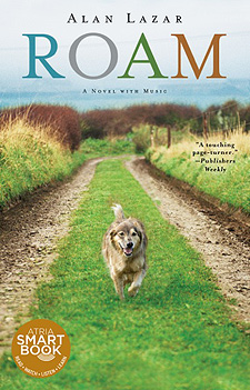 dog books - ROAM, a book about a dog reminiscent of Marley